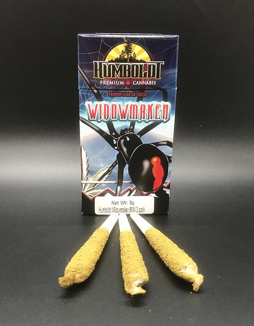 Humboldt Widowmaker MINI 3 Pack Venom OG (17.56% THC) 3g