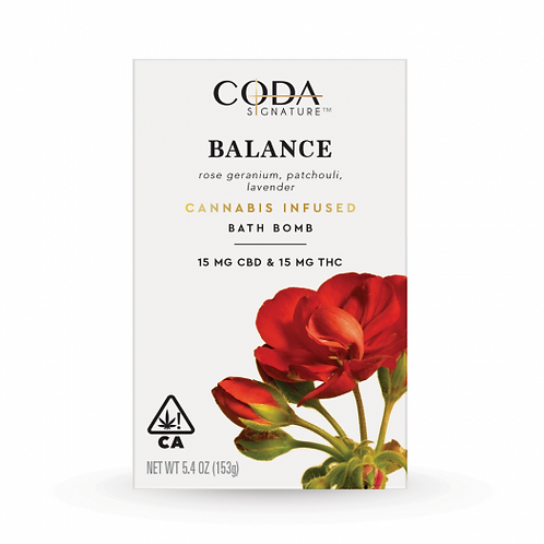 Coda Signature Bath Bomb 1:1 Balance 30mg