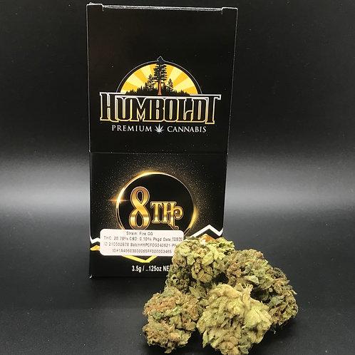 Humboldt Premium Cannabis 3.5g Sungrown 1/8 Fire OG (20.79% THC) 3.5g