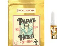 Papa's Herb Blue Dream Half Gram Cartridge .5g (84.39% THC)