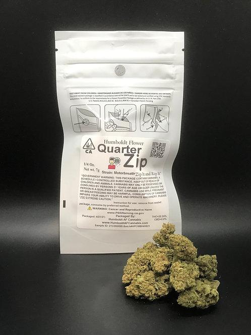 Zip Quarter Zip 1/4oz Motorbreath (20.24% THC) 7g