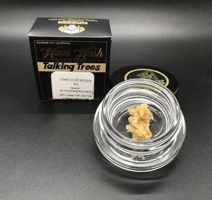 Talking Trees Live Rosin Garlic Zkittles (66.09% THC) 1g
