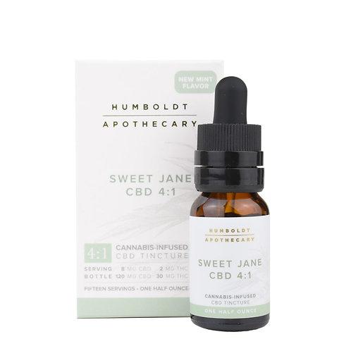 Humboldt Apothecary Sweet Jane CBD 4:1-1/2oz