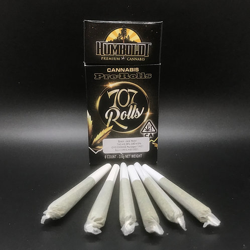Humboldt Premium Cannabis 707 Rolls Jack Herer (8.38% THC) 3.6g
