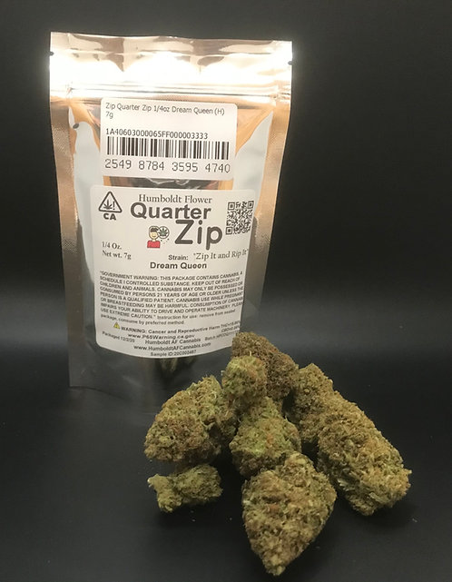 Zip Quarter Zip 1/4oz Dream Queen (15.66% THC) 7g