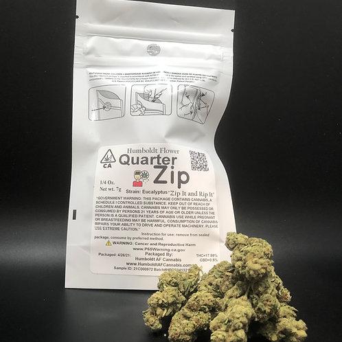 Zip Quarter Zip 1/4oz Eucalyptus (17.59% THC) 7g