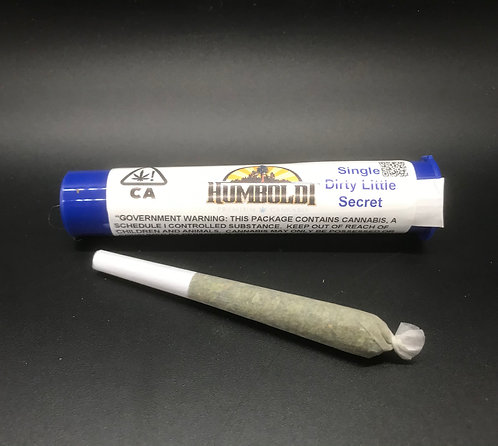 Humboldt Premium Cannabis Single Dirty Little Secret (14.83% THC) .6g
