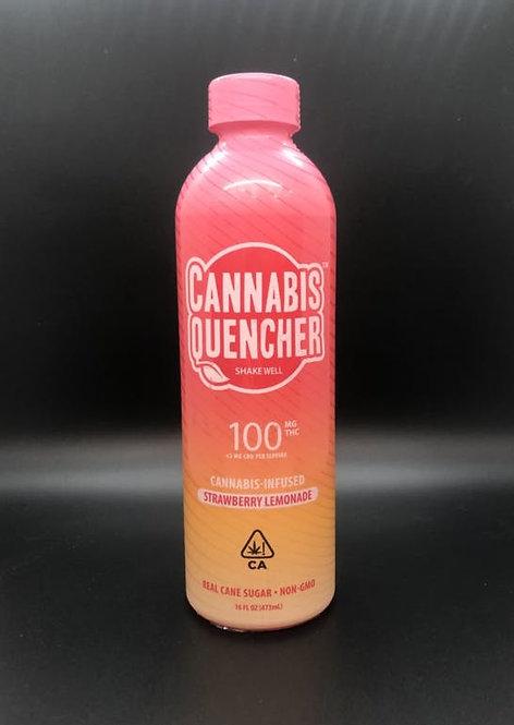 Cannabis Quencher Strawberry Lemonade 100mgTHC 16 FL OZ