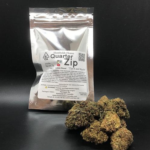 Zip Quarter Zip 1/4oz Lemon Diesel (22.36% THC) 7g