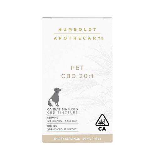 Humboldt Apothecary Companion CBD 20:1-1oz