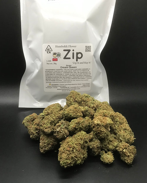 Zip 1oz Dream Queen (15.66% THC) 28g
