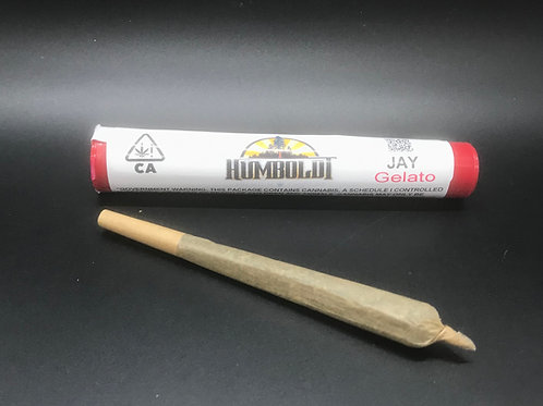 Humboldt Premium Cannabis JAY Gelato (18.16% THC) 1g