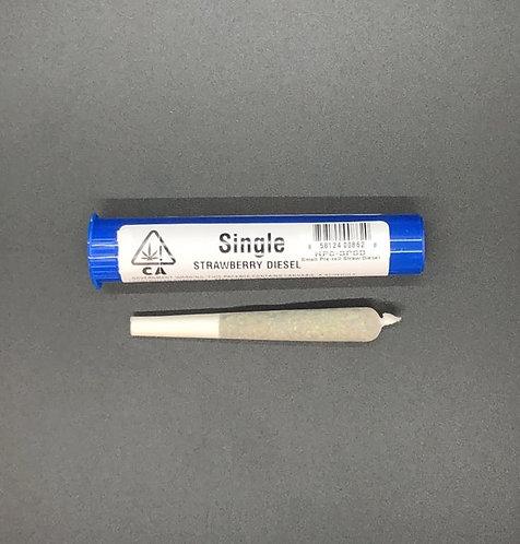 Humboldt Premium Cannabis  Single Preroll  Indica (17.96% THC)