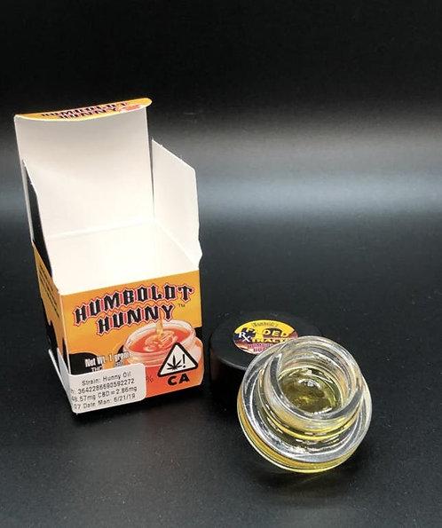 Humboldt Hunny Oil (79.63% THC) 1g