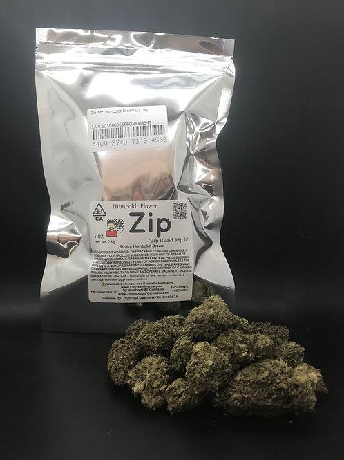 Zip 1oz Humboldt Dream (17.54% THC) 28g