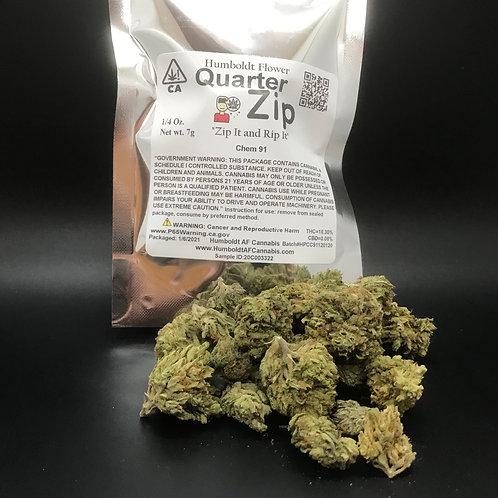 Zip Quarter Zip 1/4oz Chem 91 (18.30% THC) 7g
