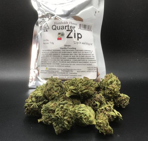Zip  Quarter Zip 1/4 oz Vanilla Frosting 7.5g (13.76% THC)