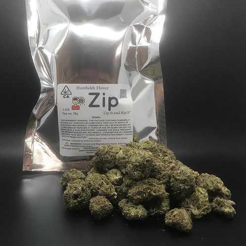 Zip 1oz Gelato (18.16% THC) 28g