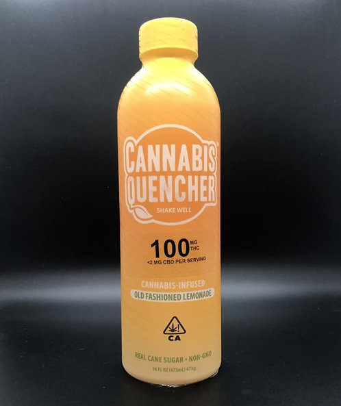 Cannabis Quencher Old Fashioned Lemonade 100mgTHC 16 FL OZ