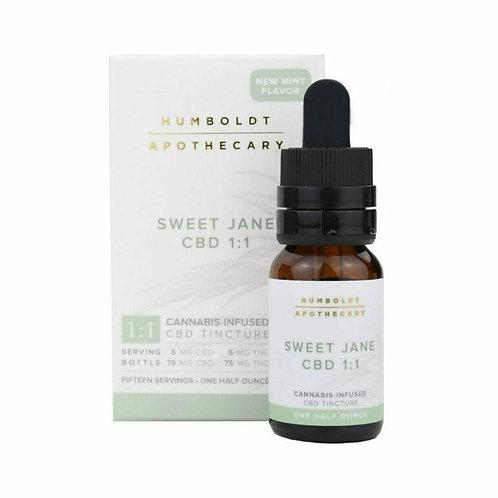 Humboldt Apothecary Sweet Jane CBD 1:1-1/2oz