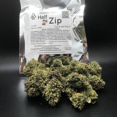 Zip Half Zip 1/2oz Vanilla Frosting (13.76% THC) 14g