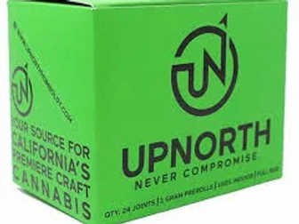Up North Farms Indoor Triangle Mints 3.5g (26.97%)