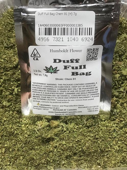 Duff Full Bag Chem 91 (18.30% THC) 7g