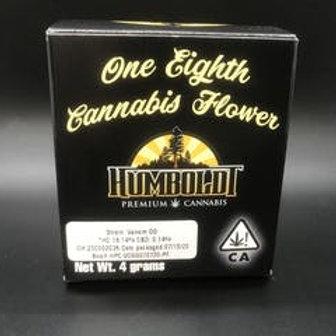 Humboldt Premium Cannabis 4g Sungrown 1/8 Venom OG (16.09% THC) 4g