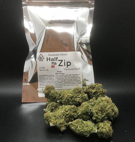 Zip Half Zip 1/2oz Blue Dream (17.18% THC) 14g