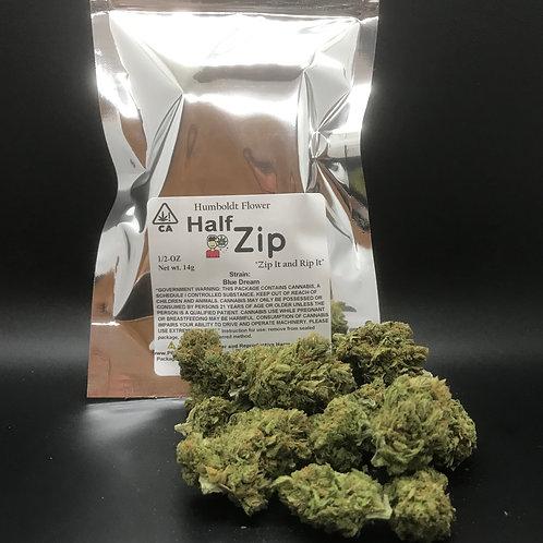 Zip Half Zip 1/2oz Blue Dream 14g (15.95% THC)