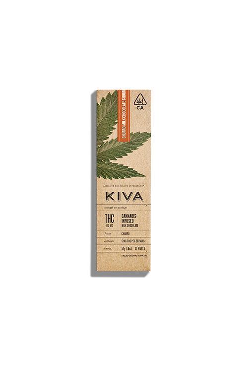 Kiva Bar  Milk Chocolate Churro 100mg