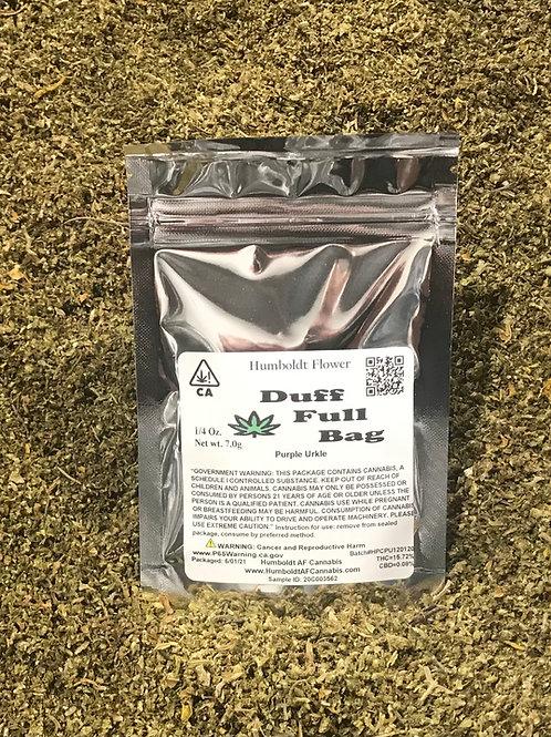 Duff Full Bag Purple Urkle (15.72% THC) 7g