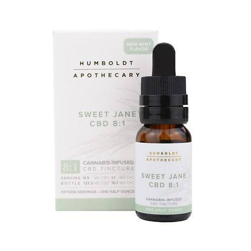 Humboldt Apothecary Sweet Jane CBD 8:1-1/2oz