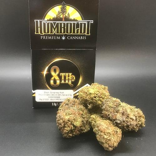 Humboldt Premium Cannabis 3.5g Sungrown 1/8 Conspiracy Kush (17.94% THC) 3.5g
