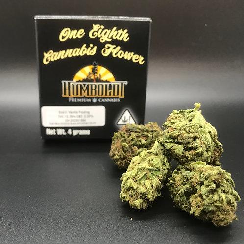 Humboldt Premium Cannabis 4g Sungrown 1/8 Vanilla Frosting (13.76% THC) 4g