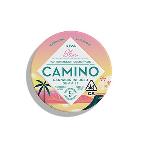 Kiva Camino Gummies Watermelon Lemonade 100mg