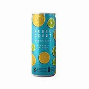 Rebel Coast Infused Seltzer Lemon Lime 10mg