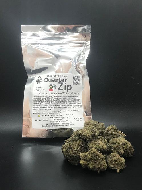 Zip Quarter Zip 1/4oz Humboldt Dream (17.54% THC) 7g