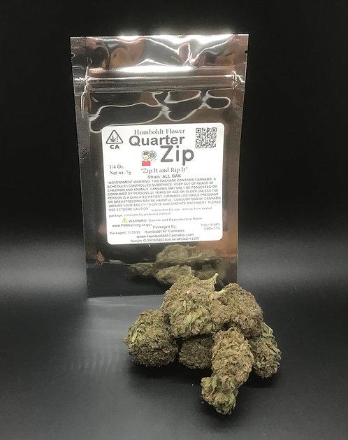 Zip Quarter Zip 1/4oz All Gas (16.66% THC) 7g