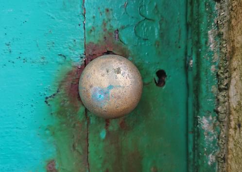 Skellig Michael Lighthouse Door Knob