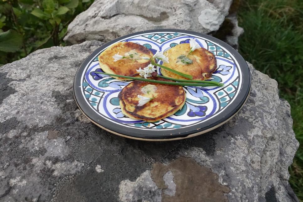 Potato Pancakes - Scrumptious Spuds!