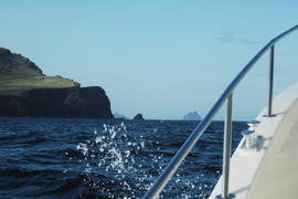 The 1st view of Skelligs