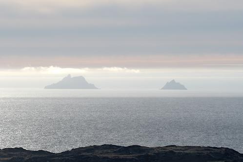 Skelligs thru' Sea fog