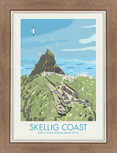 Skellig Coast - Poster Series 2017