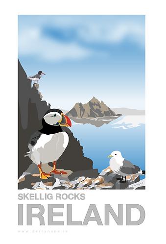 Skellig Rocks I