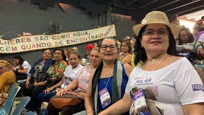 SERVIDORAS REPRESENTAM SINTESAM EM BRASÍLIA