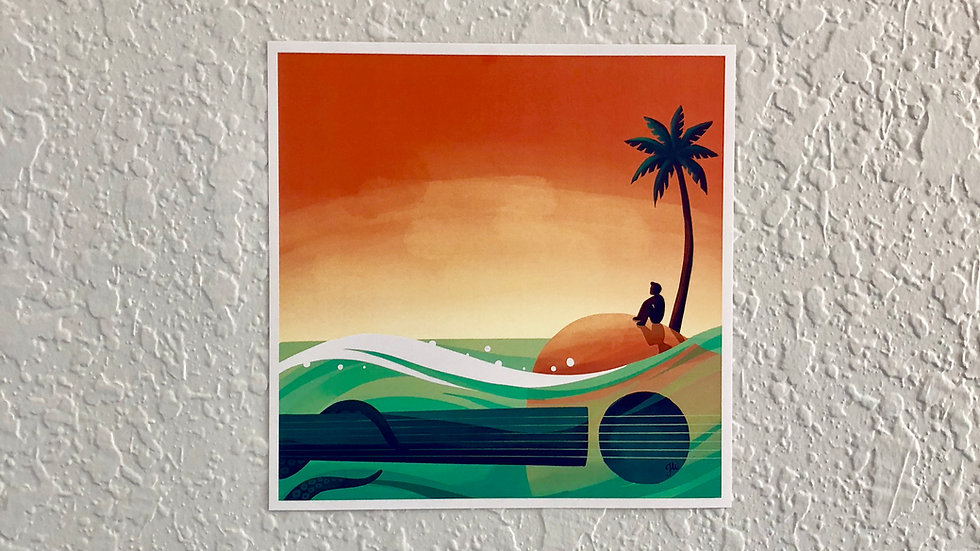 Island Mini Poster