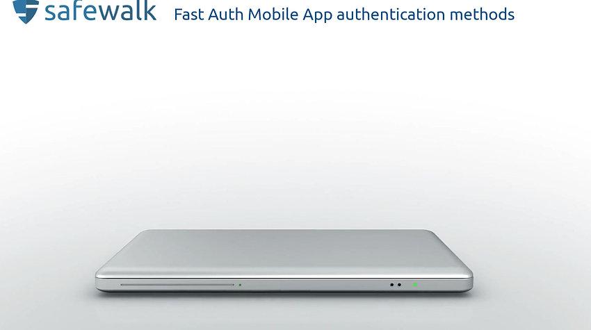 Fast Auth authentication methods