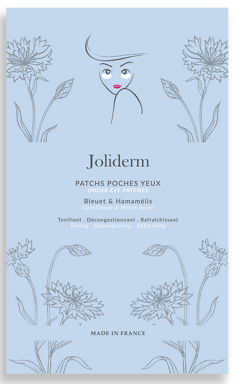 Patchs poches yeux - Joliderm