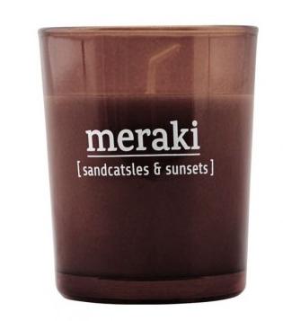 Bougie sandcatsles & sunsets - MERAKI